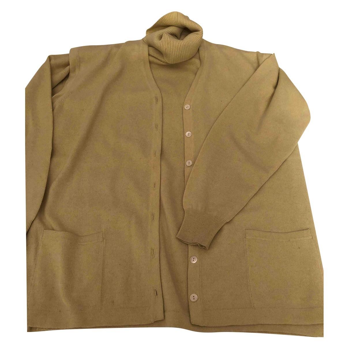 Brunello Cucinelli \N Pullover in  Gelb Kaschmir