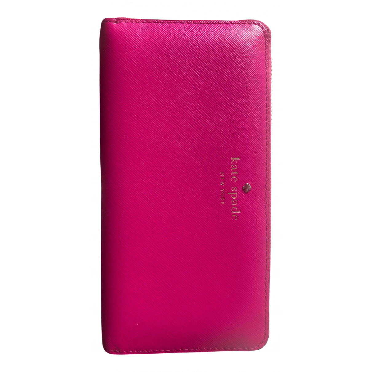 Kate Spade \N Pink Leather wallet for Women \N