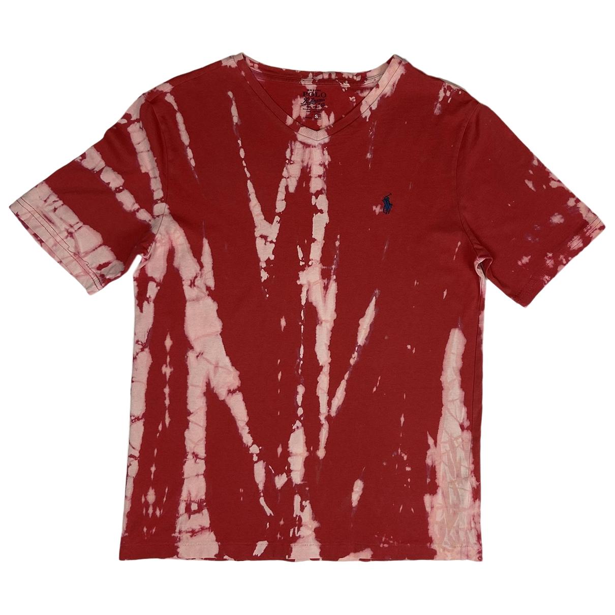 Polo Ralph Lauren \N Red Cotton T-shirts for Men M International