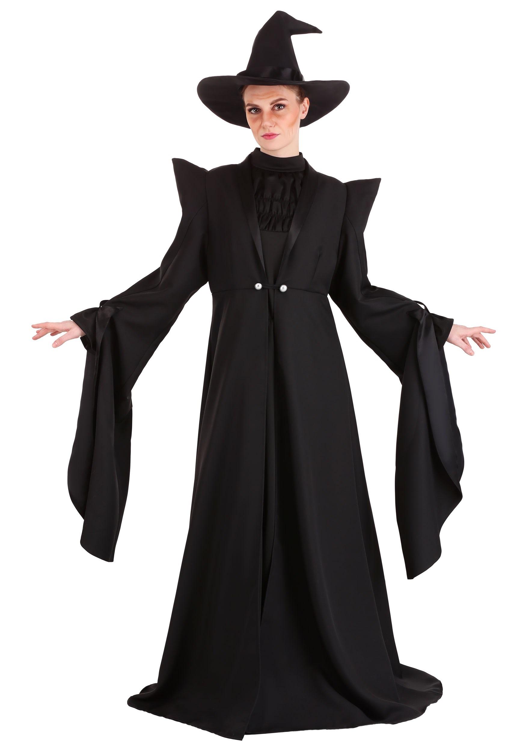 Deluxe Harry Potter McGonagall Women's Costume