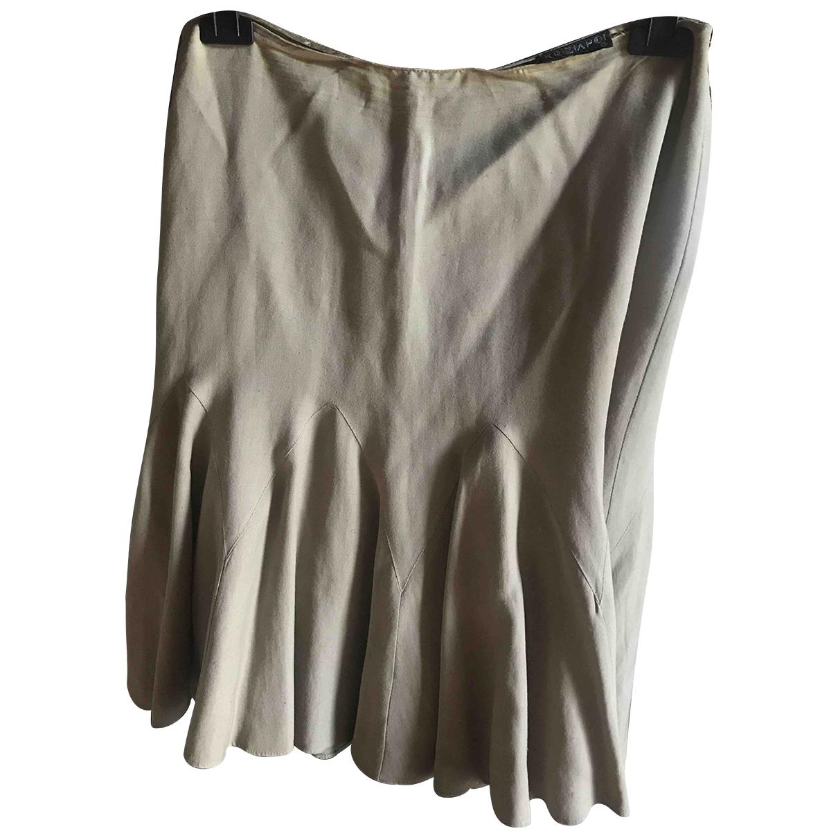 Krizia \N Beige skirt for Women 46 IT