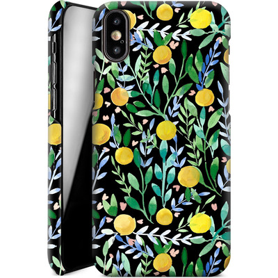 Apple iPhone XS Smartphone Huelle - Bright Blossoms von Iisa Monttinen