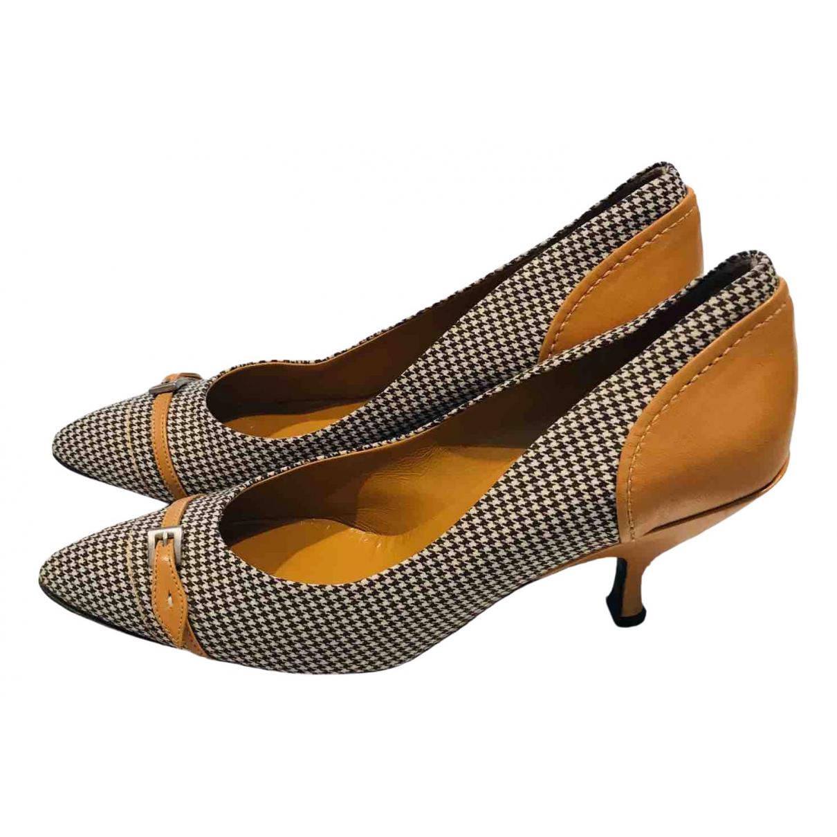 Prada \N Tweed Heels for Women 39 EU