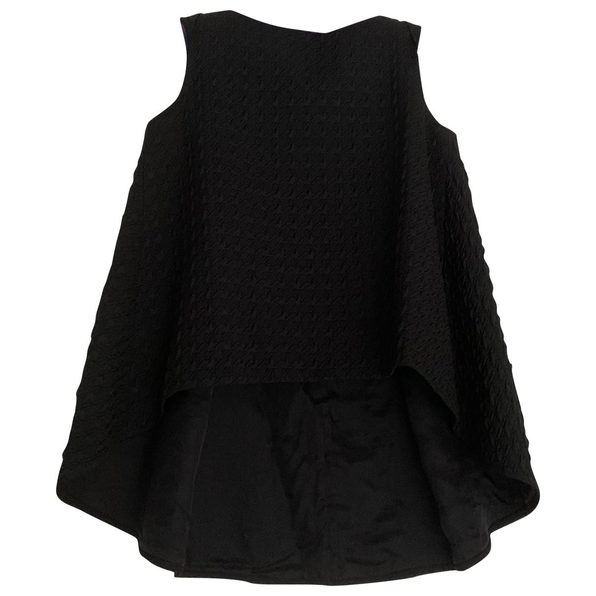Erdem - Top   pour femme en soie - noir