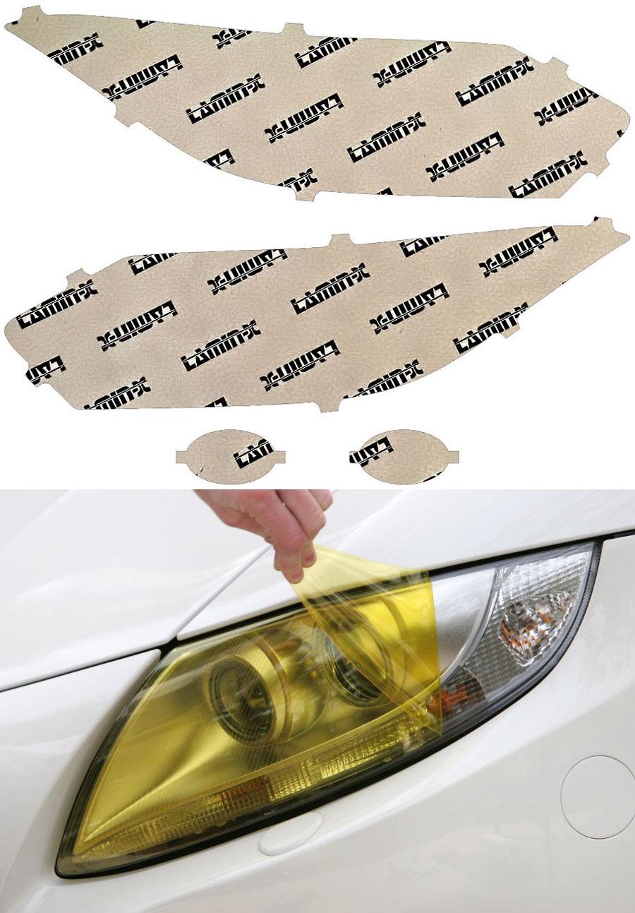 Honda HR-V 16-18 Yellow Headlight Covers Lamin-X H056Y