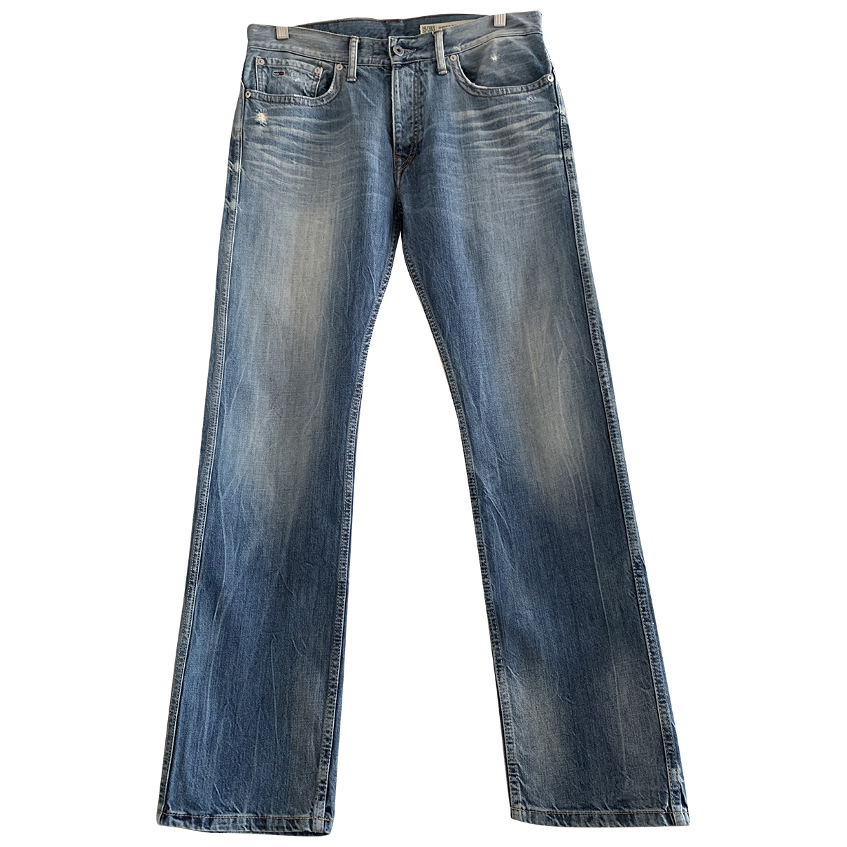 Tommy Hilfiger \N Blue Cotton Jeans for Men 32 US