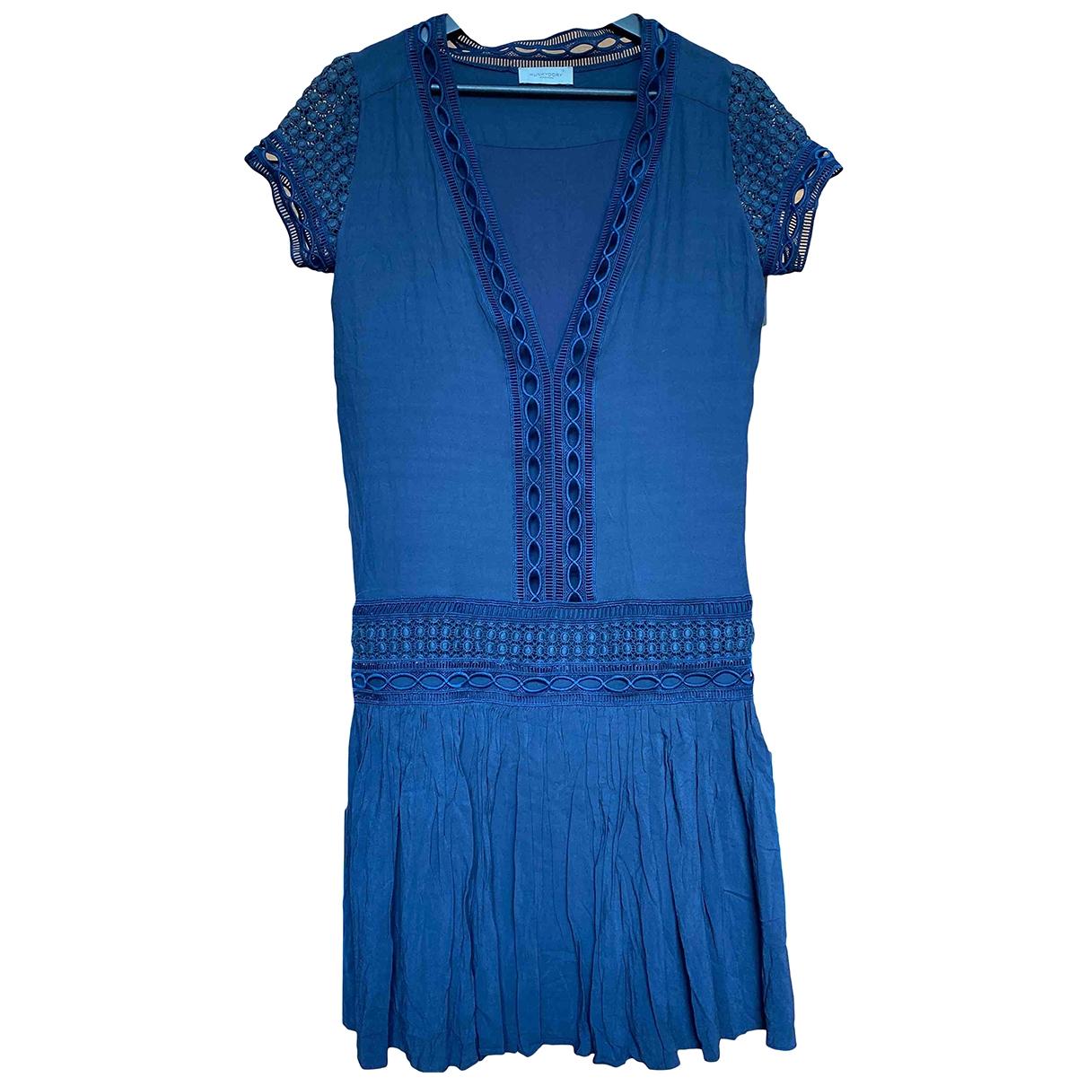 Hunky Dory \N Kleid in  Blau Viskose