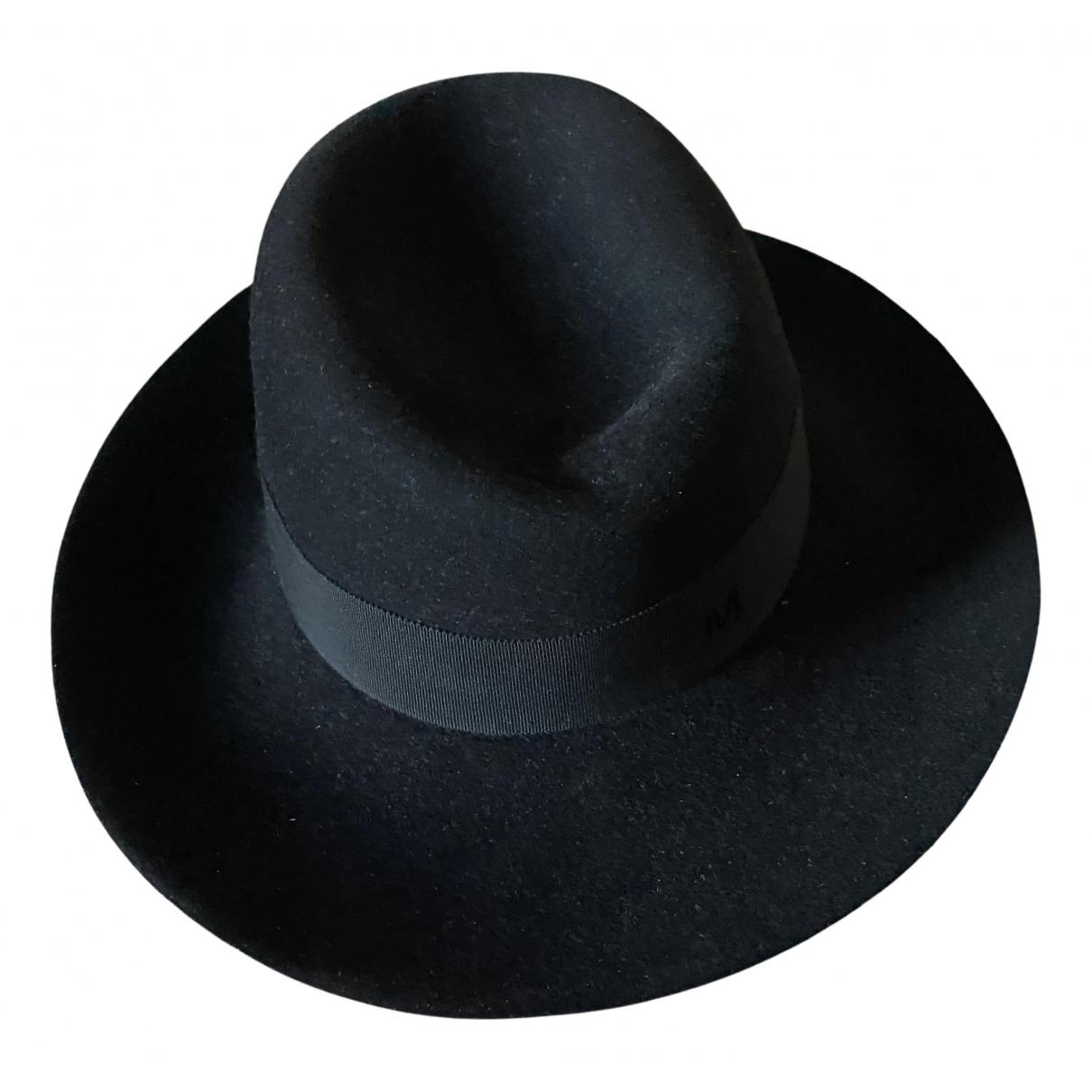 Maison Michel N Black Wool hat for Women S International