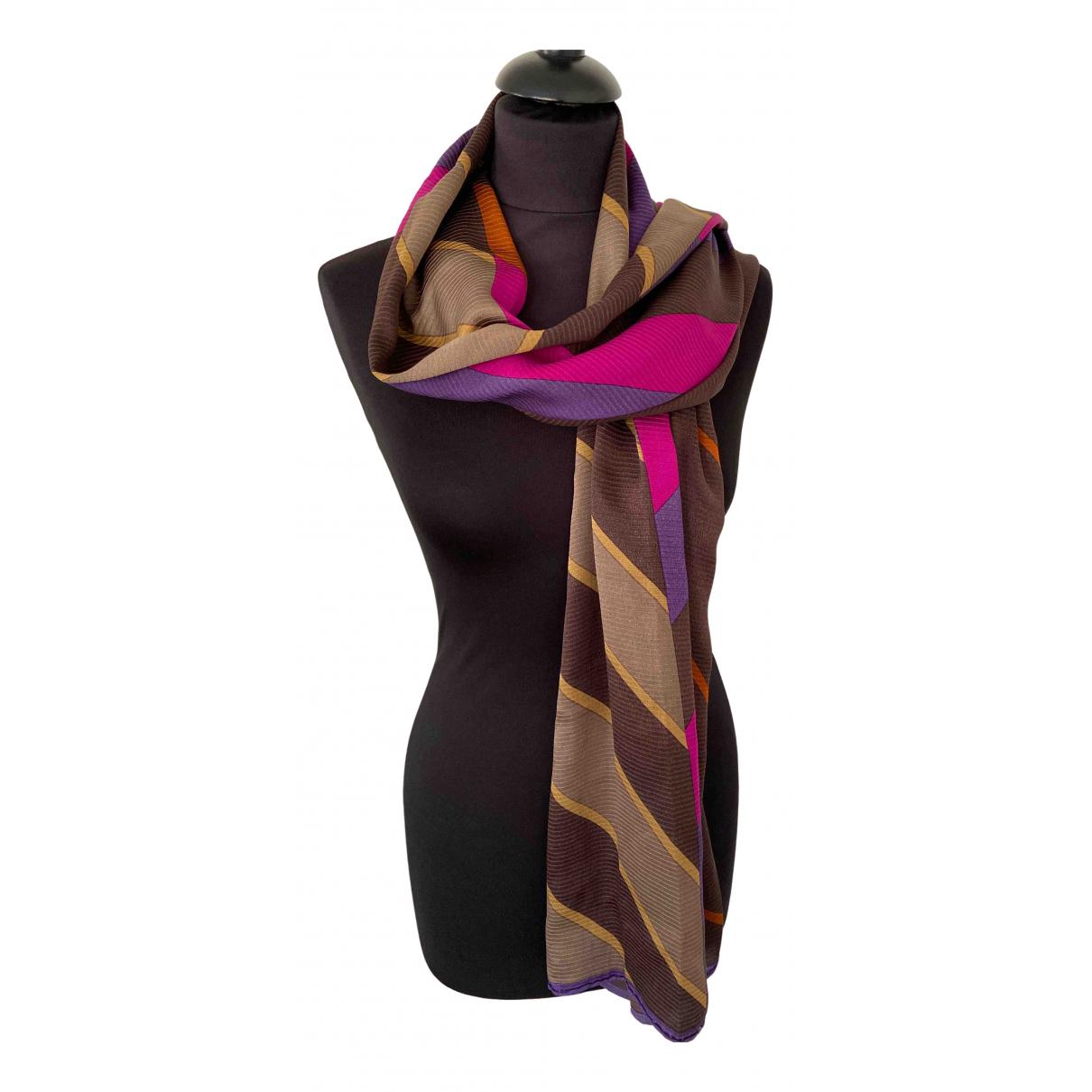 Giorgio Armani - Foulard   pour femme en soie - multicolore