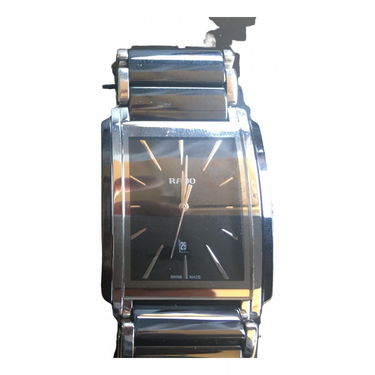 Rado \N Uhr in  Schwarz Stahl