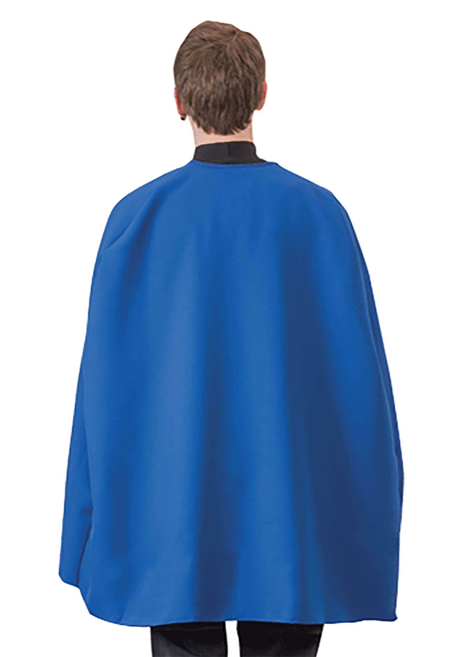 Blue Superhero Adult Cape
