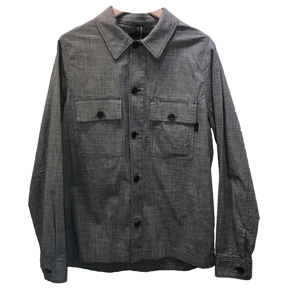 Paul Smith \N Grey Cotton Shirts for Men M International