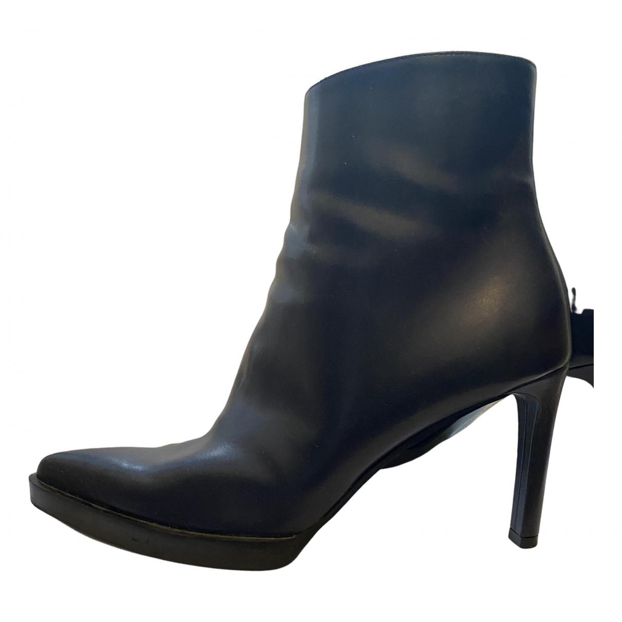 Stella Mccartney - Boots   pour femme en toile - bleu