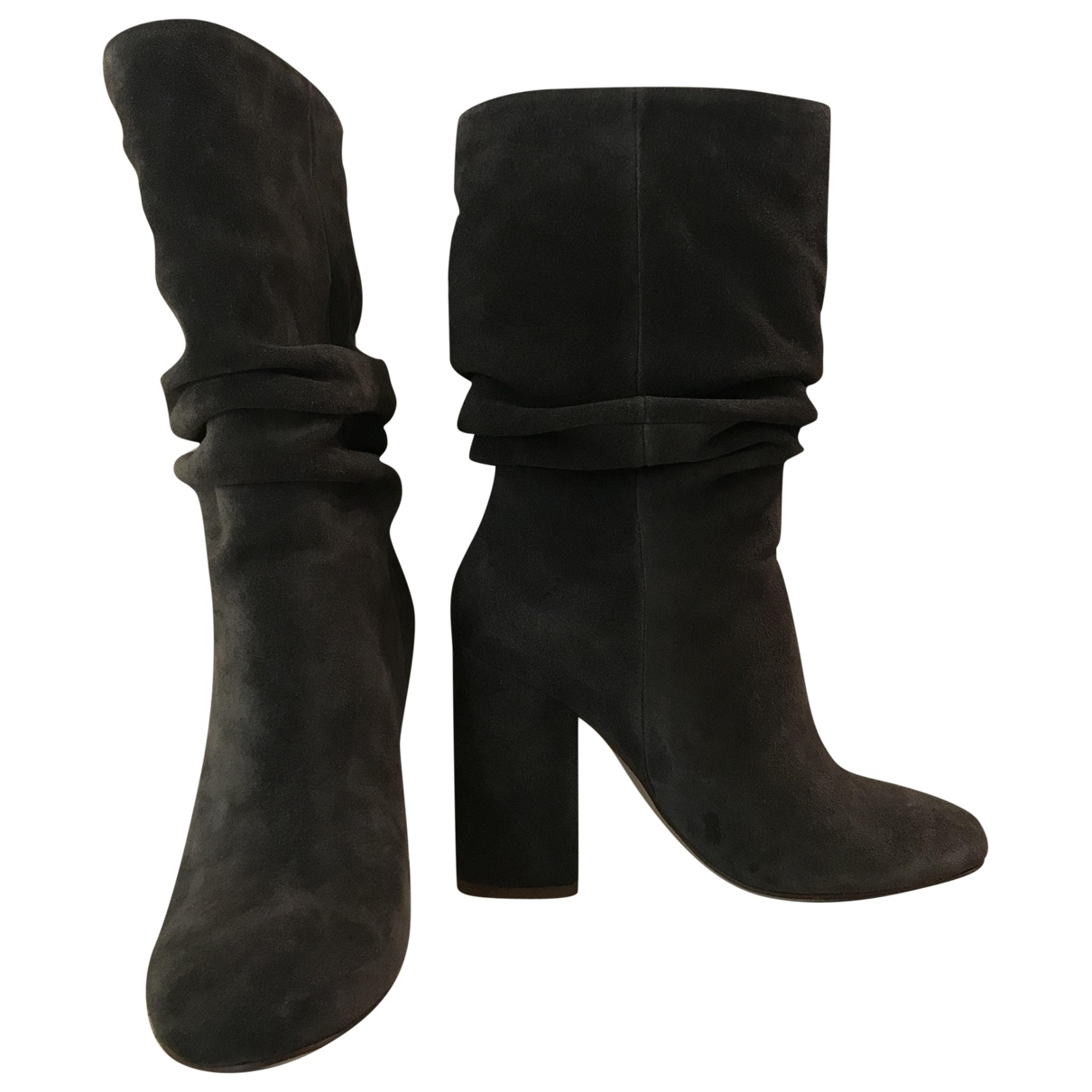 Splendid \N Grey Suede Boots for Women 36 EU