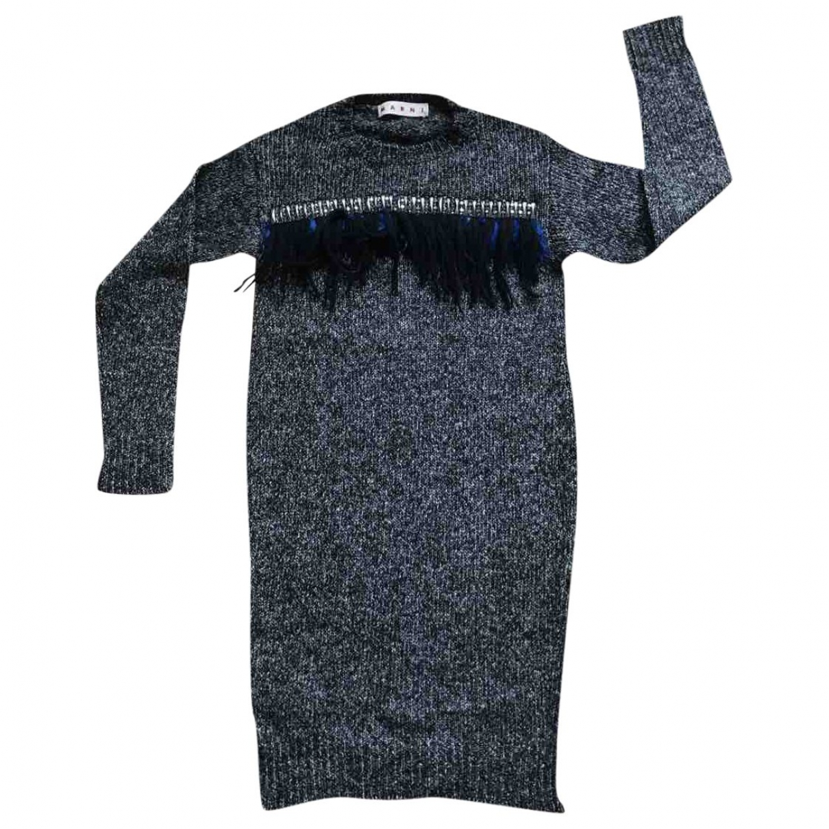 Marni \N Pullover in  Anthrazit Wolle