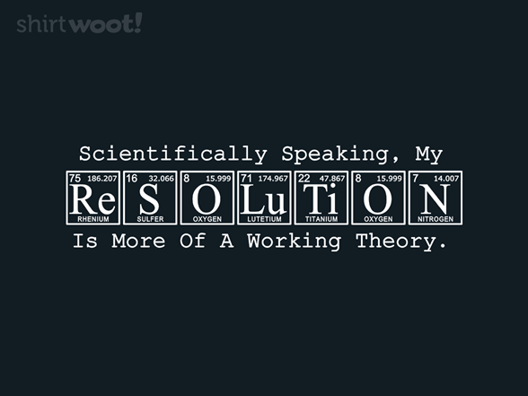 Resolution T Shirt