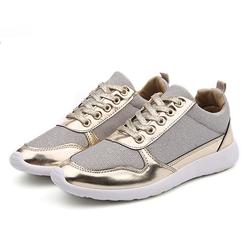 Ericdress Round Toe Thread Low-Cut Upper Patchwork Sneakers