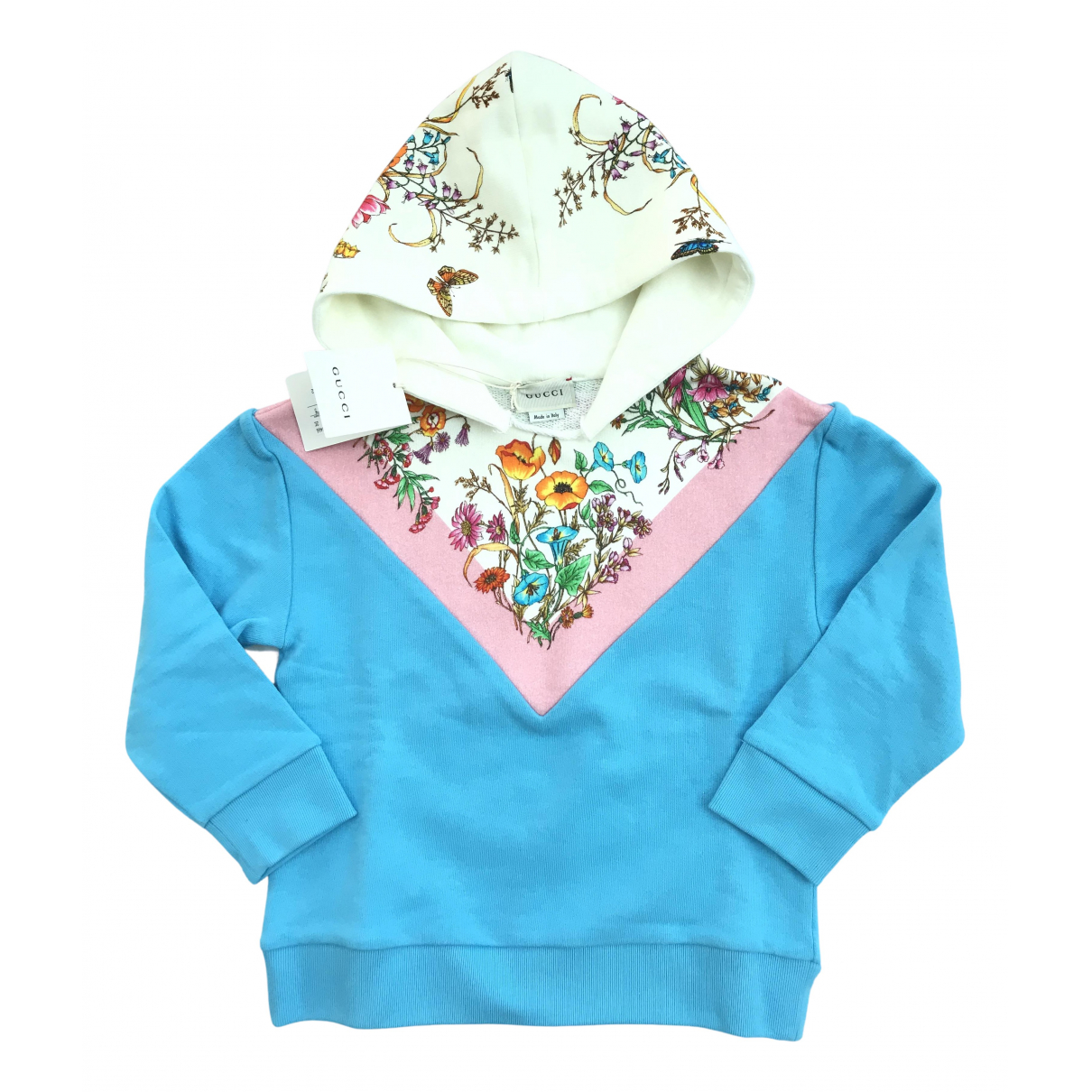 Gucci N Blue Cotton Knitwear for Kids 5 years - up to 108cm FR