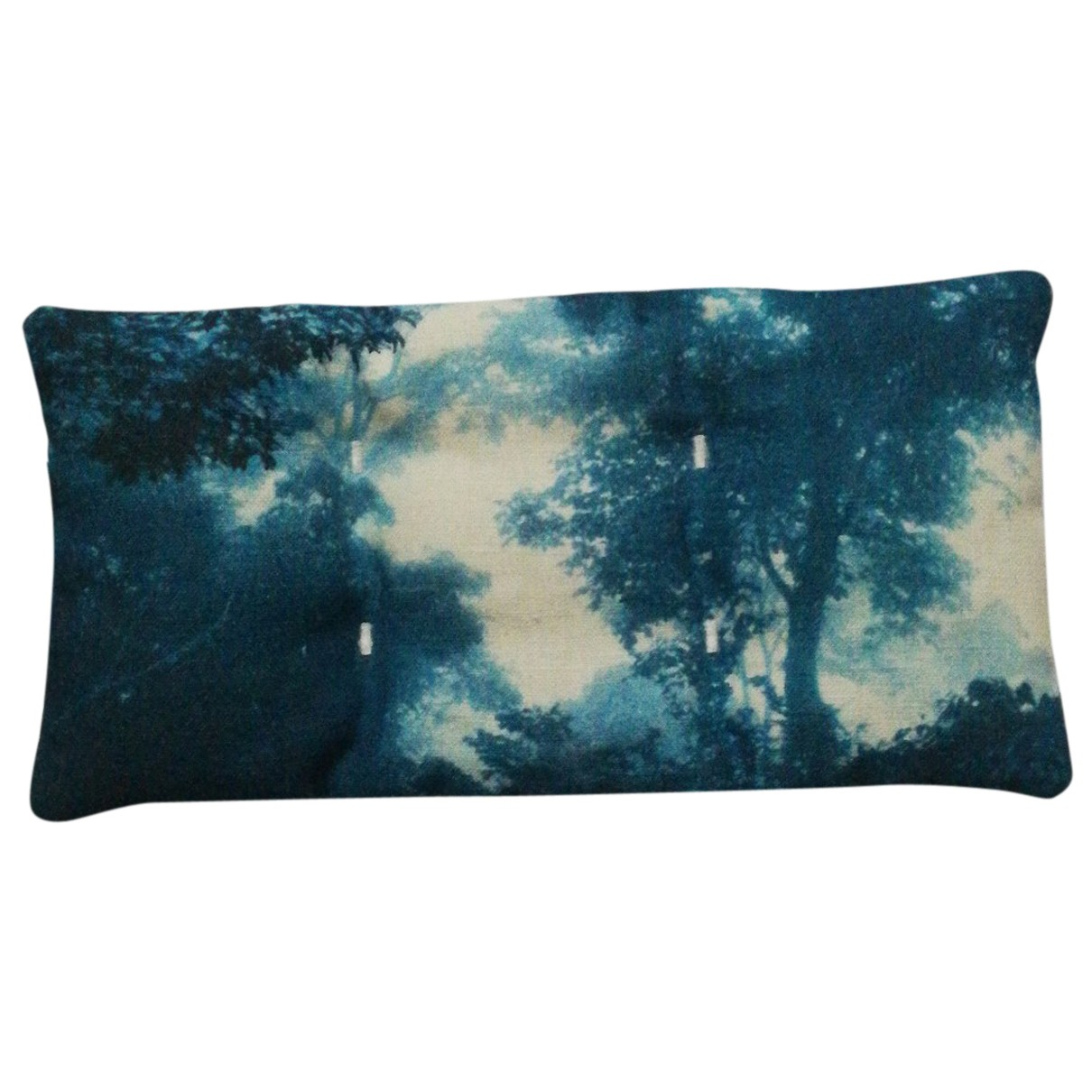 Chanel N Blue Cotton Textiles for Life & Living 20cm x10cm