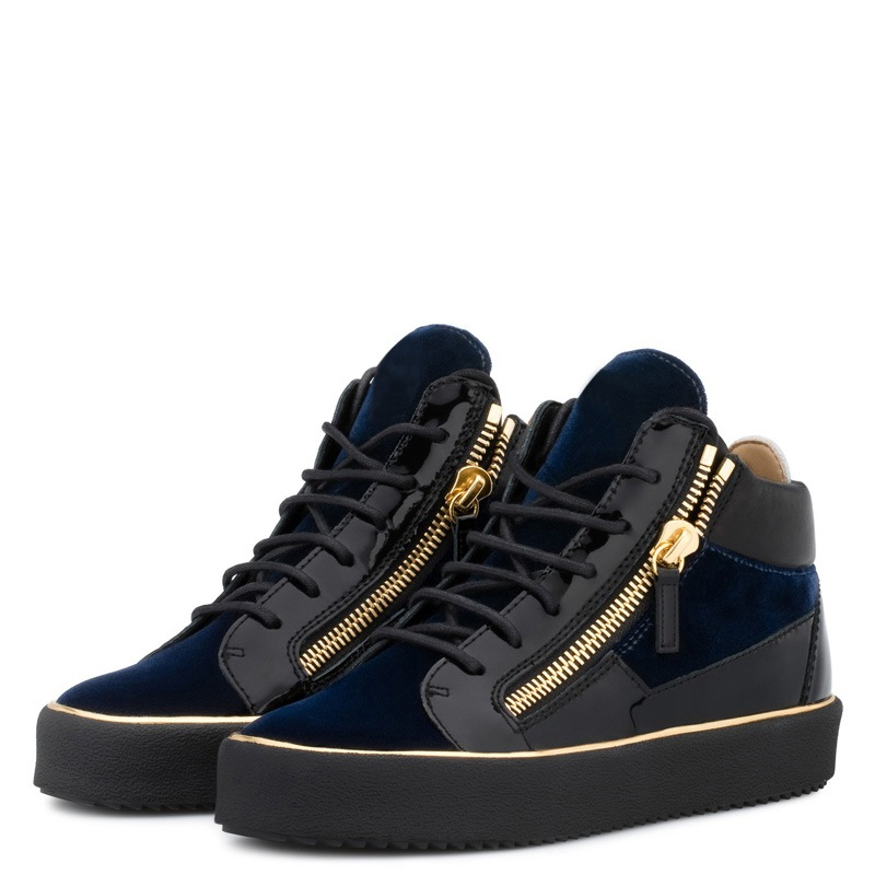 Ericdress Zipper High-Cut Upper Lace-Up Men's Shoes