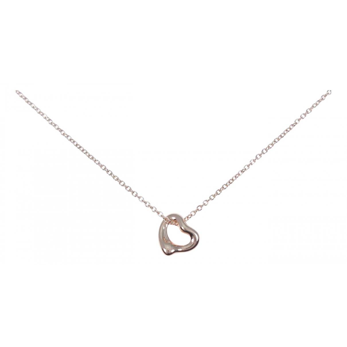 Tiffany & Co - Collier Elsa Peretti  pour femme en or rose - argente