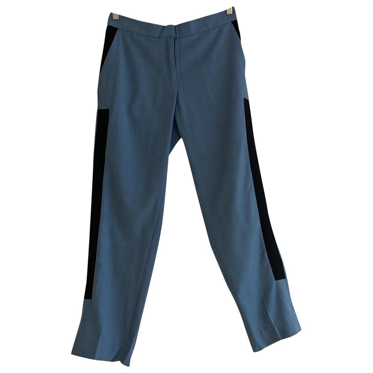By Malene Birger \N Blue Trousers for Women S International