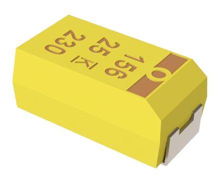 KEMET Tantalum Capacitor 22μF 25V dc MnO2 Solid ±10% Tolerance , T494 (10)