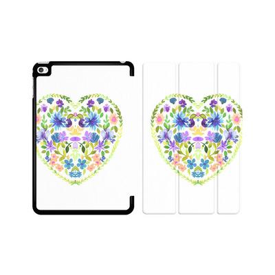 Apple iPad mini 4 Tablet Smart Case - Love Folk Olive Green von Amy Sia