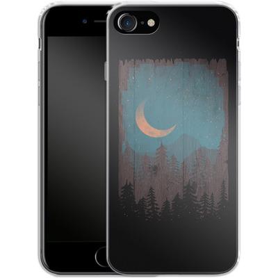 Apple iPhone 8 Silikon Handyhuelle - Those Summer Nights von ND Tank