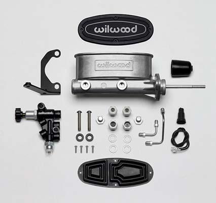 Wilwood 261-13626 Aluminum Tandem Master Cylinder Bare 15/16