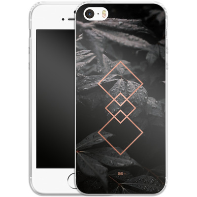 Apple iPhone 5 Silikon Handyhuelle - Gothic Pattern von #basic
