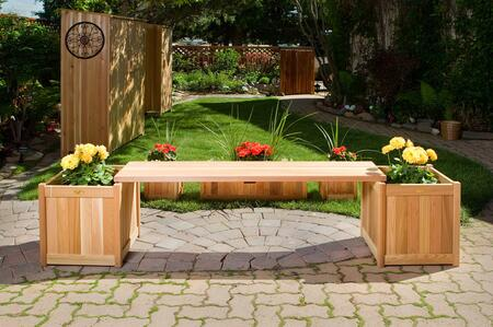PLB60-3P 3-Piece Planter Set with 2x Planter Boxes and