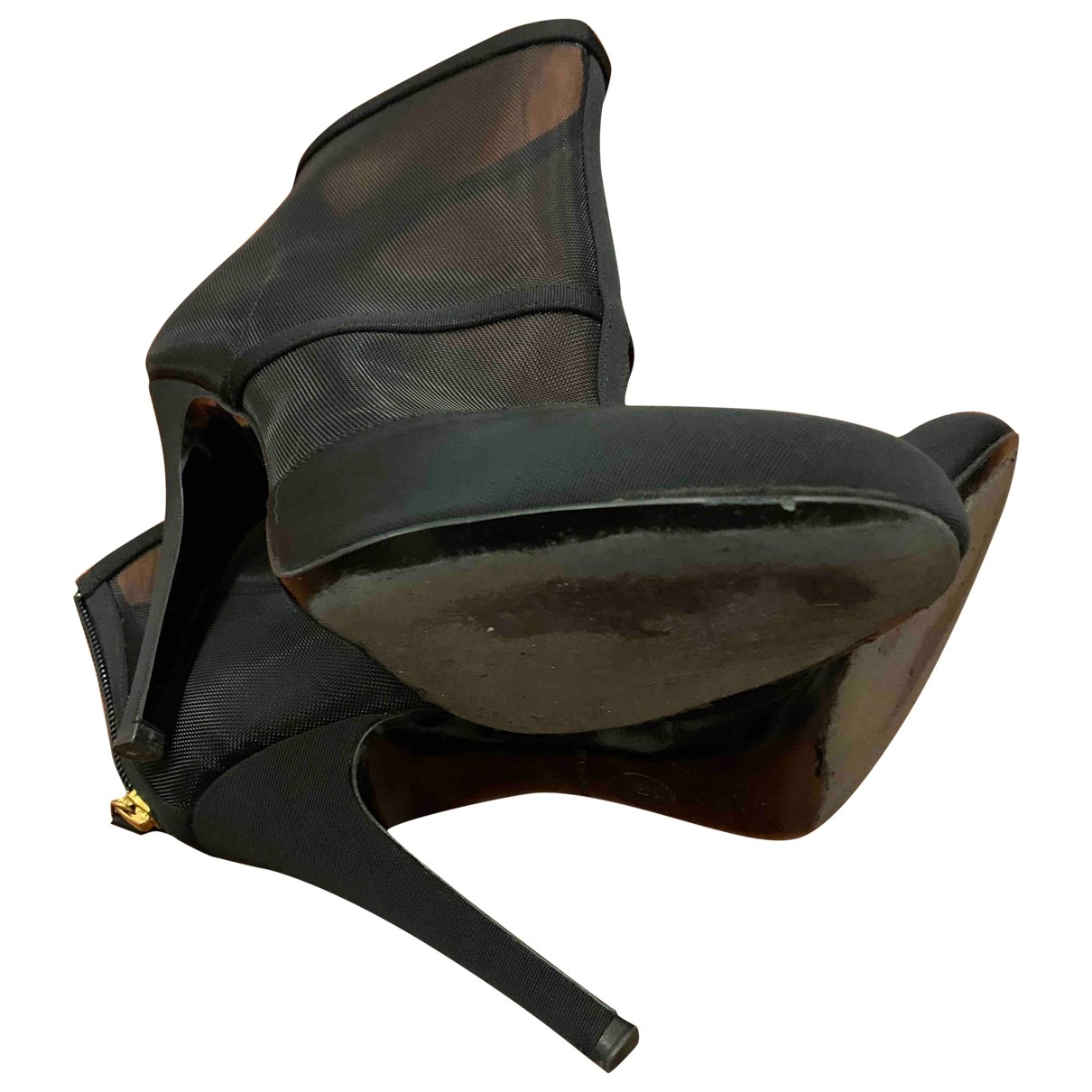 Botines de Lona Chanel