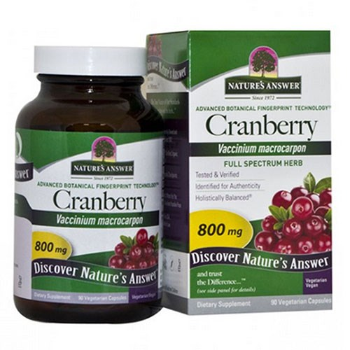 Cranberry Fruit 90 Vcaps by Nature's Answer
