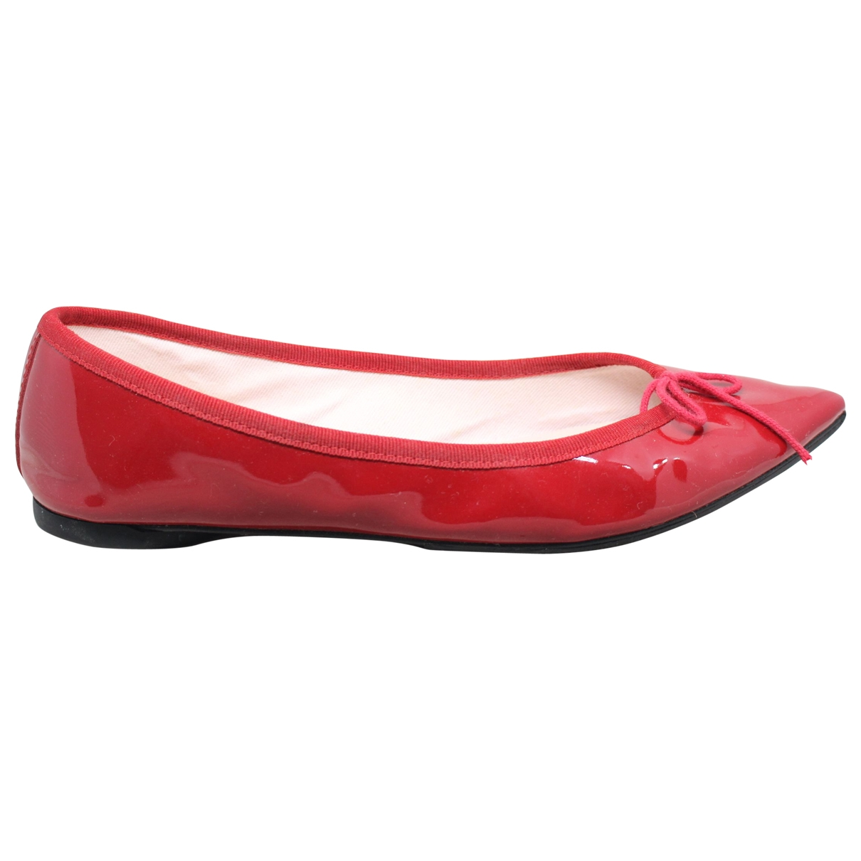 Repetto \N Mokassins in  Rot Lackleder