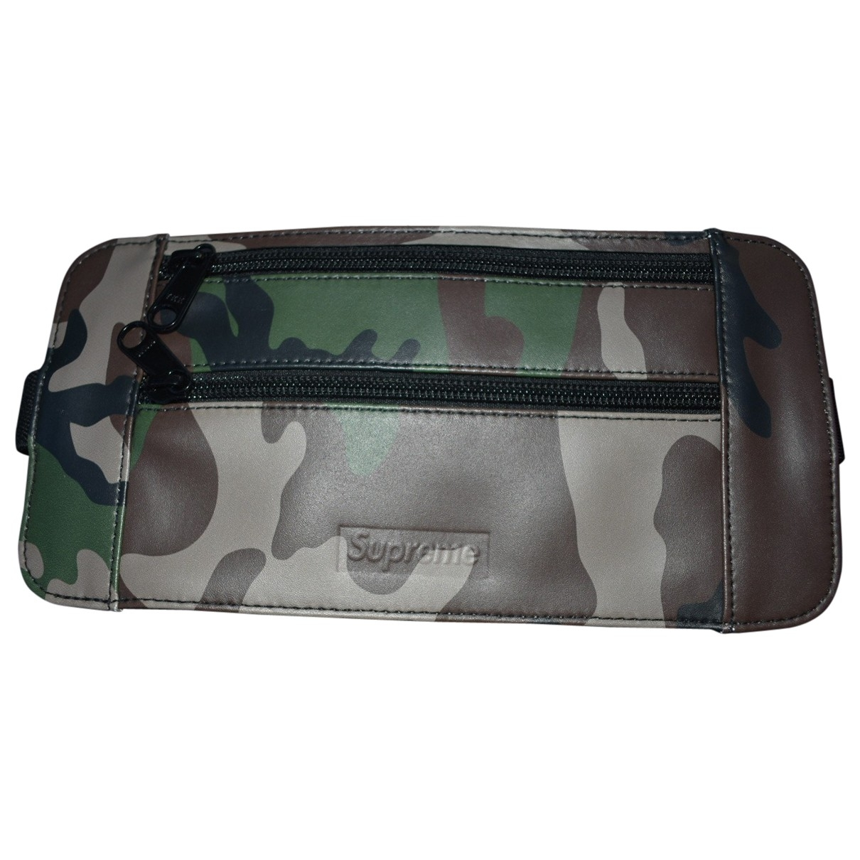 Supreme \N Multicolour Leather Small bag, wallet & cases for Men \N
