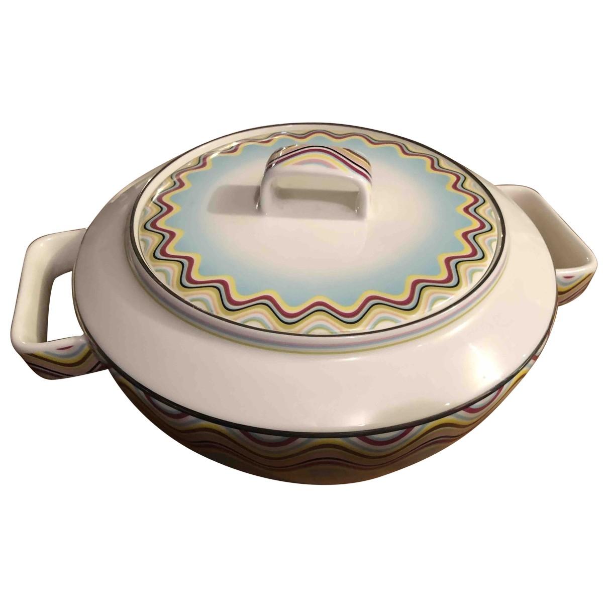 Missoni - Arts de la table   pour lifestyle en porcelaine