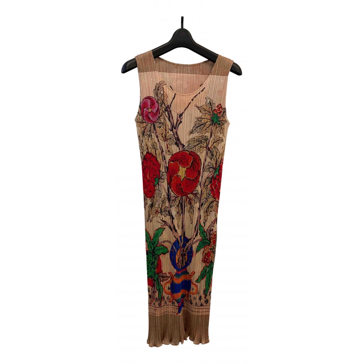 Pleats Please - Robe   pour femme - multicolore