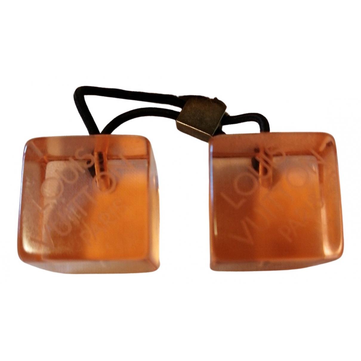 Louis Vuitton - Bijoux de tete   pour femme en polyamide - orange