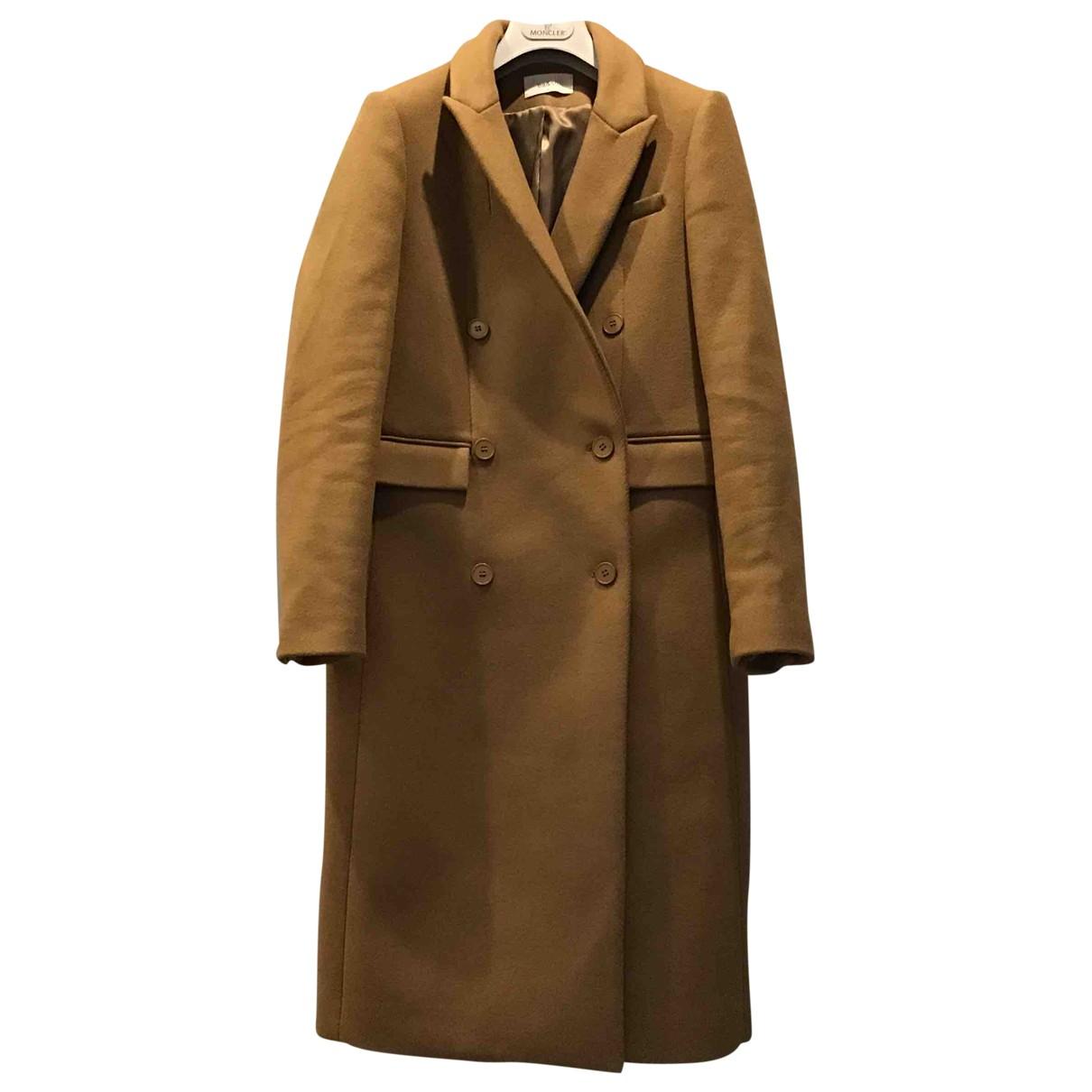 Ba&sh - Manteau   pour femme en laine - camel