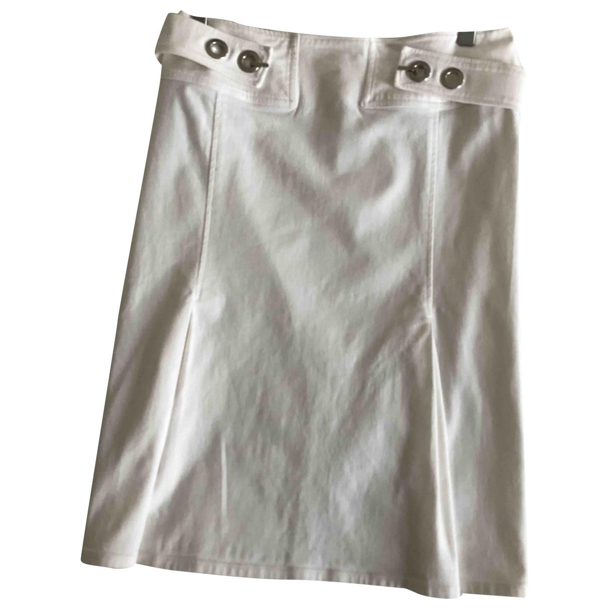 Versus - Jupe   pour femme en coton - blanc
