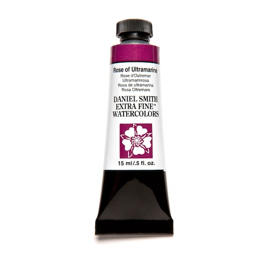Daniel Smith Extra Fine™ Watercolor, 15 ml Paint in Rose Of Ultramarine | Michaels®