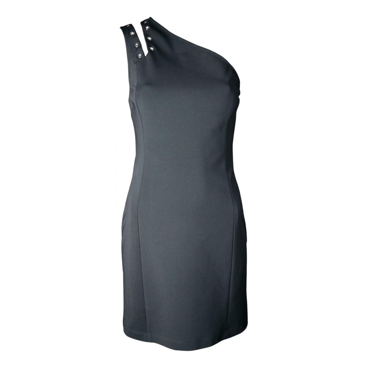 Versus \N Kleid in  Schwarz Viskose