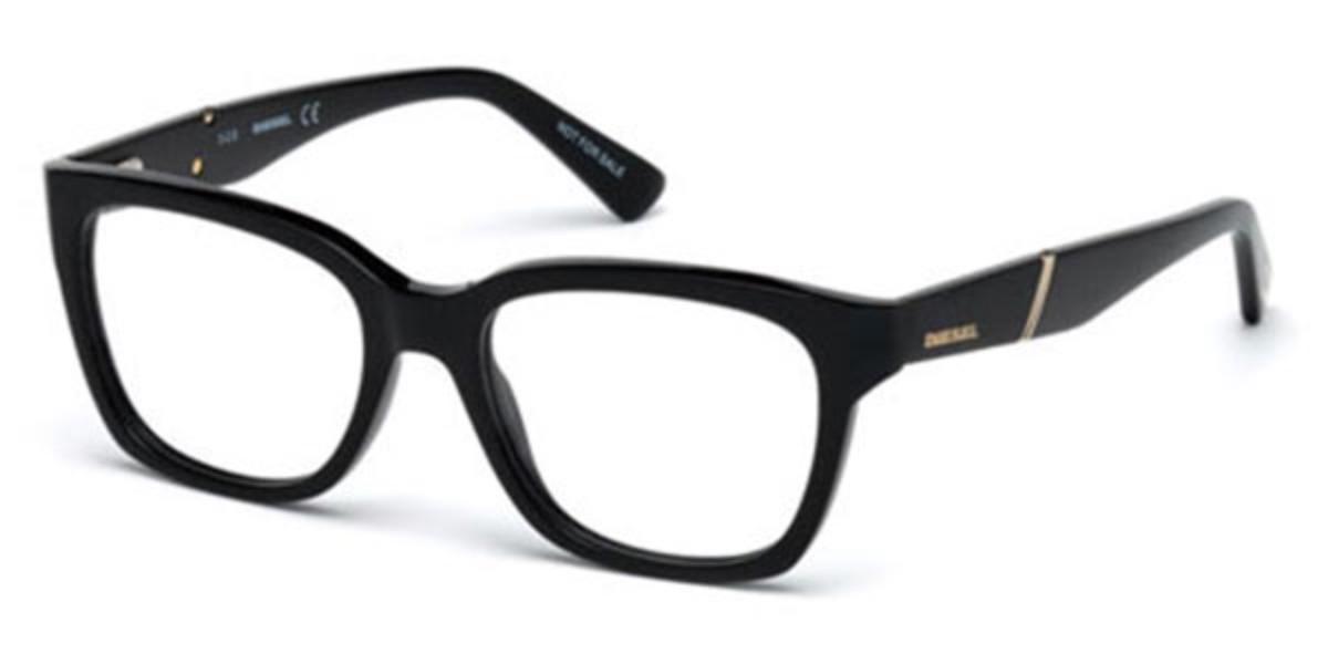 Diesel DL5242 001 Men's Glasses Black Size 51 - Free Lenses - HSA/FSA Insurance - Blue Light Block Available