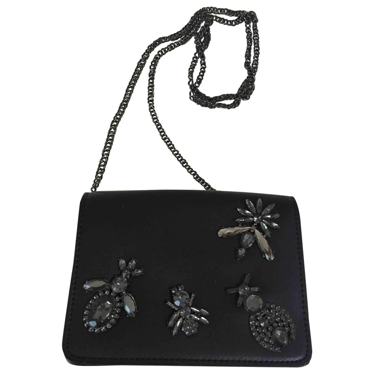 Bolsos clutch en Sintetico Negro Zara
