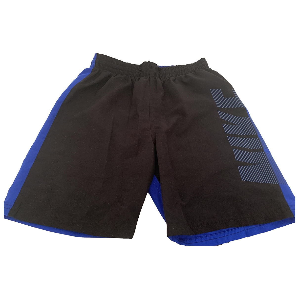 Nike \N Shorts in  Blau Polyester