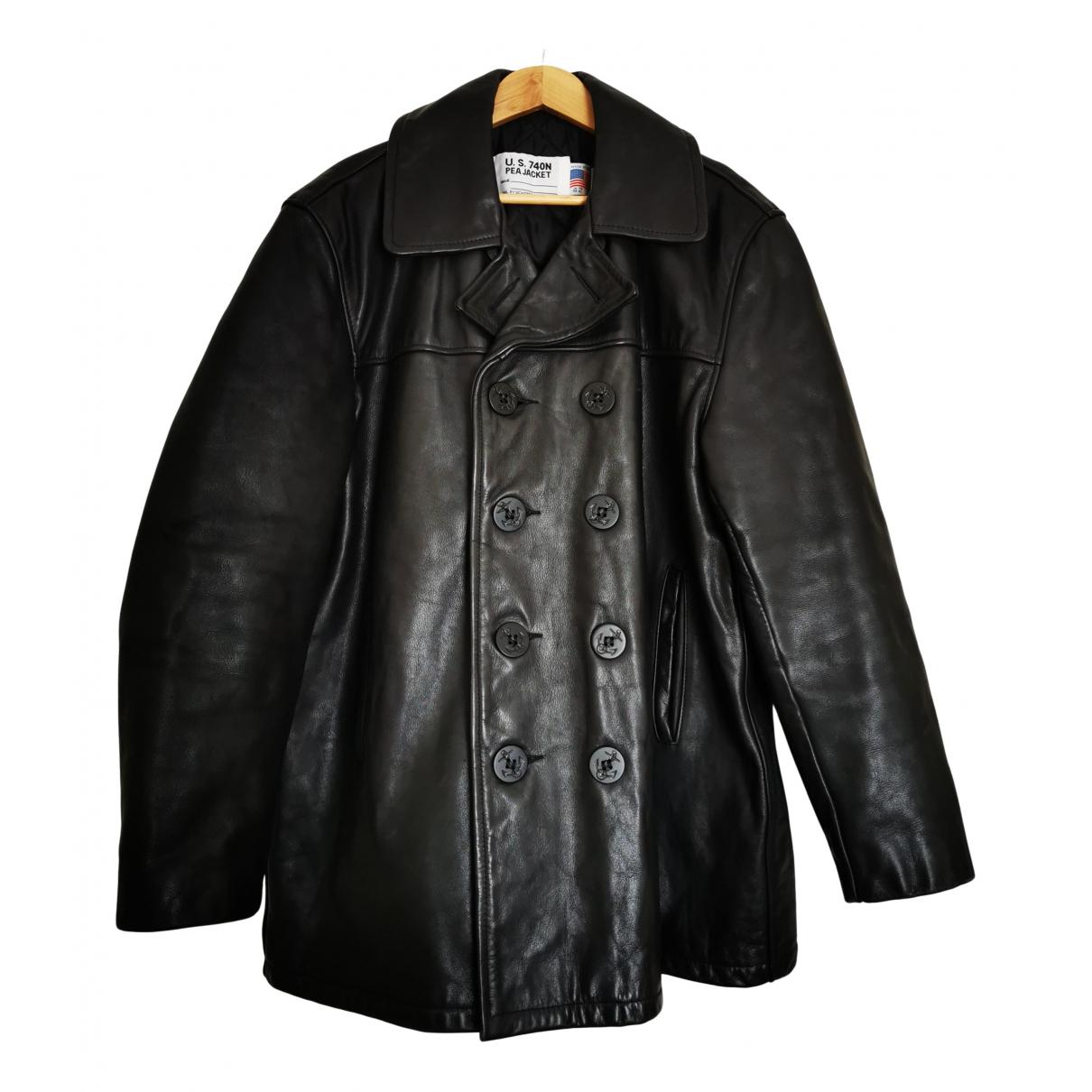 Schott N Black Leather jacket  for Men 42 UK - US