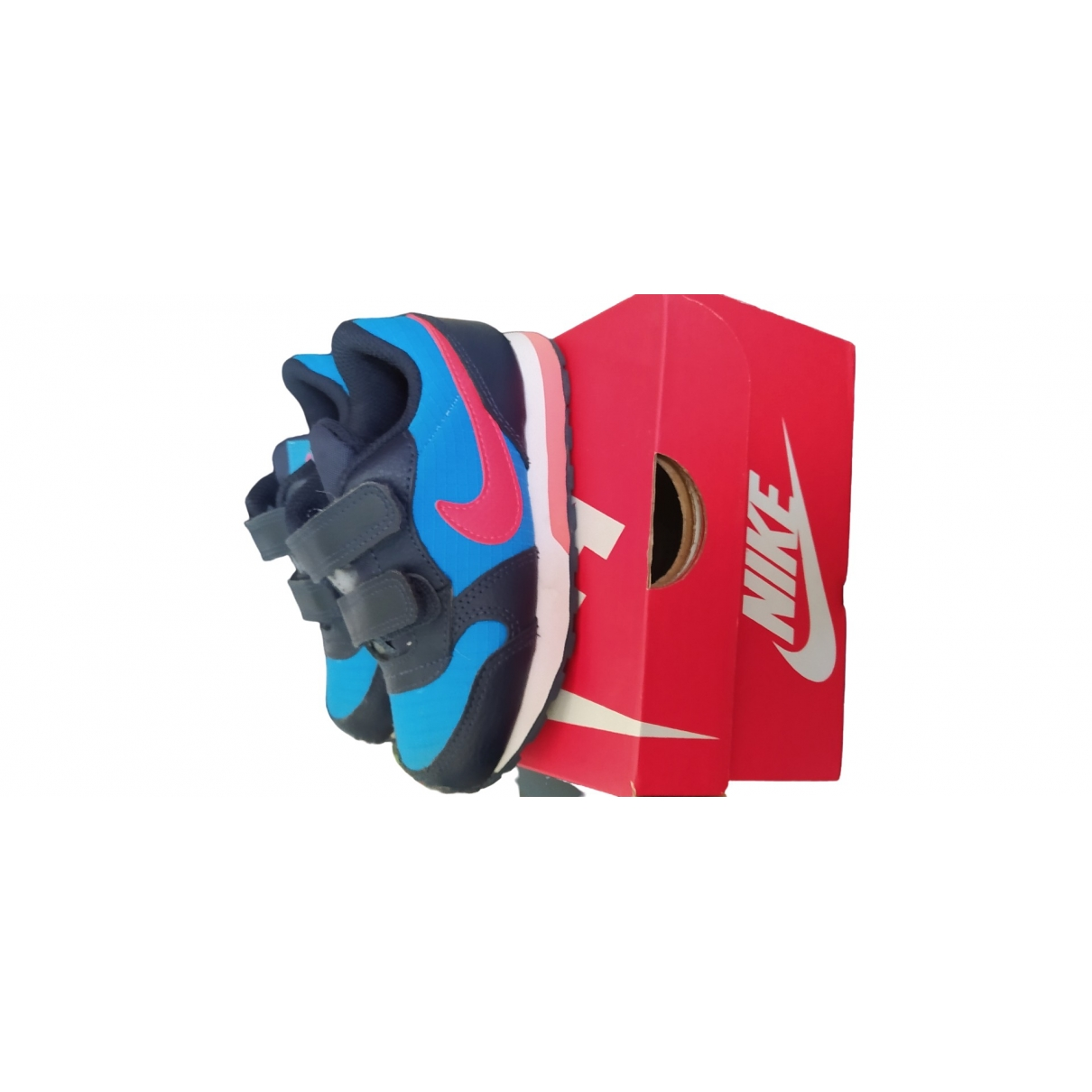 Nike - Baskets   pour enfant - bleu