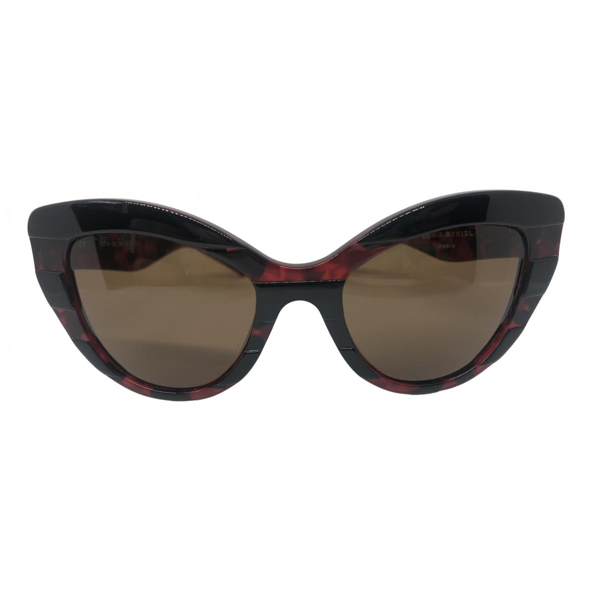 Sonia Rykiel \N Sonnenbrillen in  Rot Kunststoff