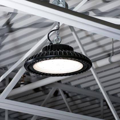Luminaire UFO Monopoint HB Pour Plafonds Élevés DEL 150W Ultra efficace 135 lumens à watts - 4000K, 120V-277V